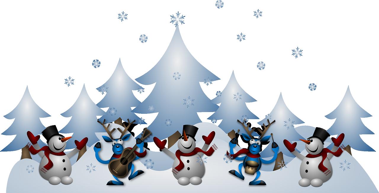 snowmen-160883_1280